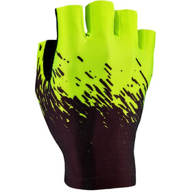 Supacaz SupaG Short Finger Gloves neon yellow/black